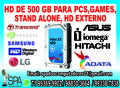 Hd De 500 Gb Seminovo Para Pc, Games, Stand Alone E Dvr Em Salvador Ba