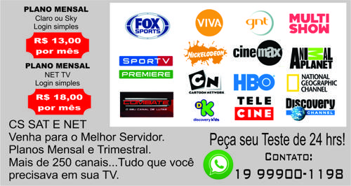 Servidor Cs Net Tv (1)