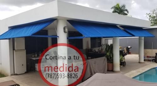 Cortinas De Lona Retractables Dorado 7875938826 (9)