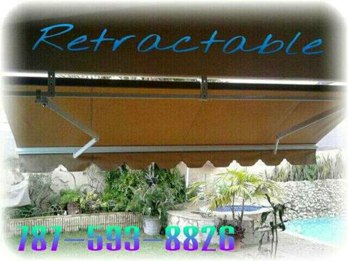 Cortinas De Lona Retractables Dorado 7875938826 (10)