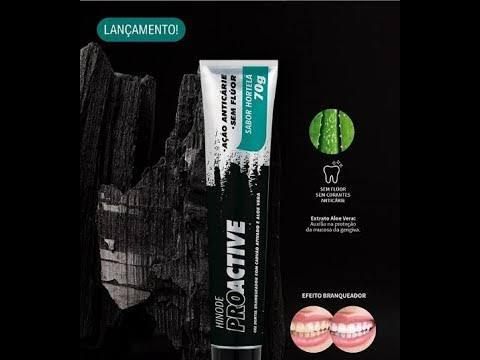 Gel Dental Carvao Ativado + Aloe Vera Proactive (1)