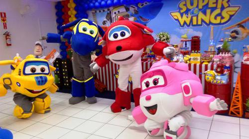 Personagem Super Wings Para Festa Infantil Bh E Regiao (2)
