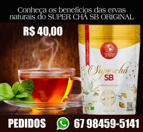 Emagrecedor Superchá Seca Barriga 100% Natural (3)