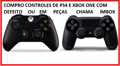 Compro Controles Com Defeito De Xbox One E Ps4 Chama Imbox