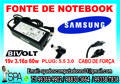 Fonte Carregador Notebook Samsung