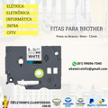 Fita Brother 9Mm Preto No Branco